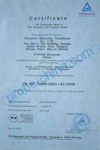 TUV Certification